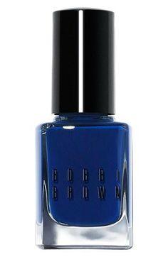 Bobbi Brown Navy Nails.