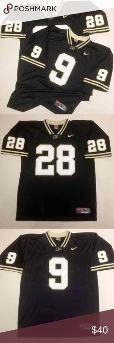 Purdue Nike Authentic Football Jerseys  Purdue University  Nike Authentic Football Jersey   2 jersey bundle!  2 for $40 Both Size Men's Large   Excellent like new condition! Boiler Up Nike Shirts Tees - Short Sleeve