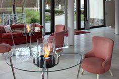 #Interior #Design for Hotel Dwór Oliwski including Planika's #fireplace.