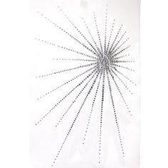 Rhinestone Transfer Hot Fix T-shirt Clothing Crafts Cushion Crystal Silver Light Design 1 Sheets 8.8* 13.3 Inch Crystal Silver Light Design $18 each