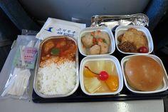 Air Koryo Ilyushin IL62 inflight catering