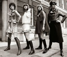 Swinging London - Youth culture flourished and post-war austerity finally gave place to a decade of optimism and exploration – of everything. Rock music was instrumental in youth culture and teenagers and young people were crazy about The Beatles, The Rolling Stones, The Kinks and The Who. Psychedelic rock also grew more popular every day with bands such as Pink Floyd and The Jimmy Hendrix Experience setting a psychedelic underground scene in London.