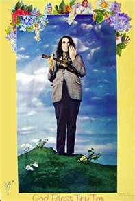 Tiny Tim-- you had to be there to understand... and to remember he married Miss Vicky on the Tonight Show!