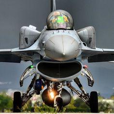 #Repost @sitkiatasoy Polish Air Force Lockheed Martin F-16C Block 50 Fighting Falcon NATO Tiger Meet 2015 3rd Main Jet Base Command of TurAF Konya/TURKEY by militarytopics