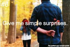 I love suprises!!!...though they usually dont get pulled off very well:)