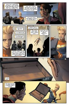"Captain Marvel ""Civil War II #4"""