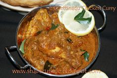 Chettinad chicken ..tried n its awesome ..