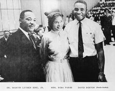 Dr. Martin Luther King Jr. & Rosa Parks, David Boston.