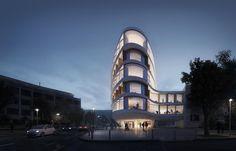 Office Building, Switzerland, Anderegg-Rinaldi et Associés, 2016