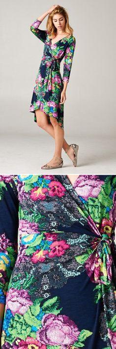 Jenna Dress in Floral