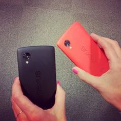 Black and red Nexus 5