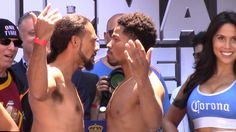 Check out the tale of the tape for the upcoming WBA welterweight fight between Keith 'One Time' Thurman and Shawn 'Showtime' Porter! http://www.potshotboxing.com/keith-thurman-shawn-porter-ready-bang/