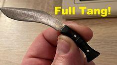 Making a Tiny Khukuri Knife!