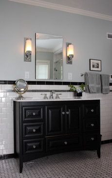 Bathroom Black And White Retro Designs Design Pictures Remodel