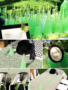 Finding Neverland Inspired Birthday Party---I hope Ellie loves Tinker Bell for awhile so I can do this. So cute!