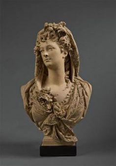 Albert-Ernest Carrier-Belleuse, Marguerite Bellanger.Château de Compiegne