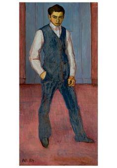 Paul Citroen - Self-portrait, 1914