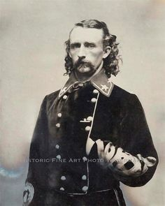 GEORGE ARMSTRONG CUSTER PHOTO SCARCE RARE BRIGADIER GENERAL 1863 #20602        General Custer was the most photographed person of the Civil War. Photographed more times than Abraham Lincoln!