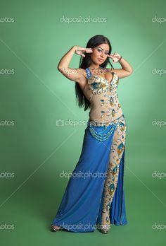Beautiful+dance | Beautiful girl dancer of Arabic dance | Stock Photo © Анна ...