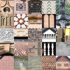Edgar Wood: Pattern, Texture and Decoration by fotofacade, via Flickr