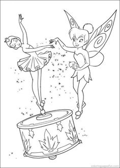 Tinkerbell Coloring Pages 57
