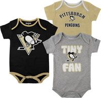 pittsburgh penguin baby stuff would be cuter if they were pink