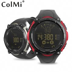 Best Price ColMi Smartwatch 50 Meter Waterproof Standby 33 Months Sport Monitoring For Android iOS Brim Men Smart Watch Best Smart Watches, Cool Watches, Smartwatch, Smart Watch Review, Android, Ios Phone, Consumer Electronics, Monitor, Usb Flash Drive