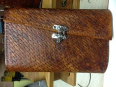 Tooled Leather note book cover by Marcshandycraft on Etsy, $65.00