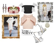 """""""Haute Couture Paris 2016"""" by harperleo ❤ liked on Polyvore featuring Alexander McQueen, Simone Rocha, Charlotte Olympia, Topshop, Adeam, Olivia Riegel, women's clothing, women, female and woman"""