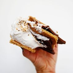 Three ingredients. One great creation. #smoresday