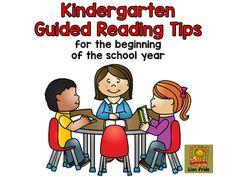 Guided Reading in Kindergarten