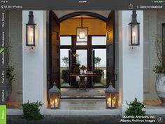 exterior lighting ideas. Lanterns Instead Of Plants, No Watering. Exterior Lighting Ideas A