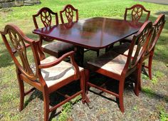 1940s French Provincial Dining Chairs