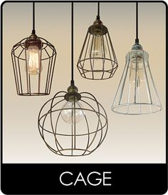 Pendant Lighting   CAGE