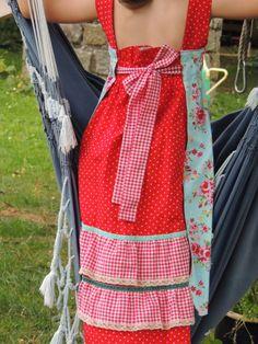 Kleider - FELIZ Festkleid / Einschulungs Kleid Gr. 122/128 - ein Designerstück von made-by-RiAnn bei DaWanda