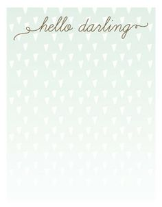 Confetti Stationery in Mint by Penelope Poppy. #stationery #hellodarling #confetti #notes #penelopepoppy