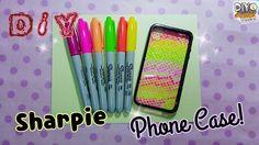 diy sharpie phone case ideas