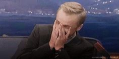 Tom Felton's reaction to Drarry