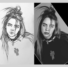 Discover recipes, home ideas, style inspiration and other ideas to try. Dark Art Drawings, Pencil Art Drawings, Art Drawings Sketches, Cool Drawings, Billie Eilish, Memorial Day Sales, Charcoal Art, Simple Cartoon, Easter Nail Art