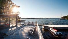 Älgö 5 Stockholm, Saunas, Archipelago, Villa, Boat House, Studio, Dream Homes, Future, Future Tense