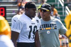 Pittsburgh Steelers WR JuJu Smith-Schuster worked with Hines Ward before  Monday s win 7a2184c72