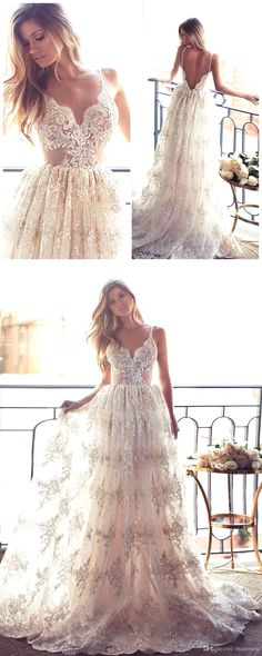 White wedding dress. All brides dream of having the ideal wedding, but for this they need the most perfect wedding dress, with the bridesmaid's dresses enhancing the brides-to-be dress. The following are a few suggestions on wedding dresses.