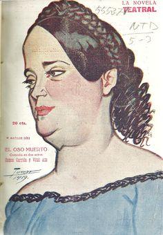 El oso muerto. Comedia en dos actos. Miguel Ramos Carrión (1848-1915). Vital Aza (1851-1911). Madrid : La novela corta. 1919. http://bvirtual.bibliotecas.csic.es/csic:csicalephbib000555271