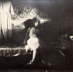 Anastasia Nikolayevna on the train in 1916