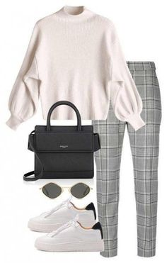 Look Sport Chic - Damen Mode Mode Outfits, Trendy Outfits, Fall Outfits, Fashion Outfits, Sneakers Fashion, Dress Fashion, Fashion Clothes, Uni Outfits, 90s Clothes