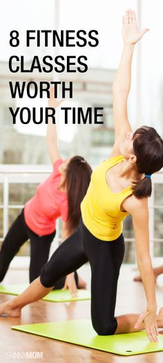Here are 8 fitness classes that will definitely whip you into shape!