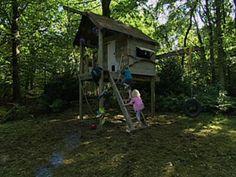 FAN.tv | Maak een boomhut voor de kinderen!