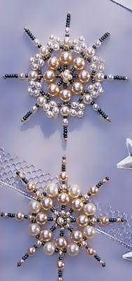Bijoux Pattern: Snowflakes