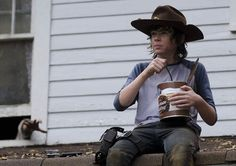"Carl Grimes (Chandler Riggs) in 409, ""After"""