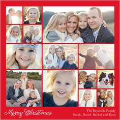 Our Moments Christmas Card